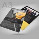 A3 Flat Flyer & Leaflet Printing