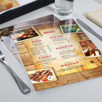 laminated-menu